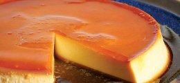 Flan de queso con leche condensada