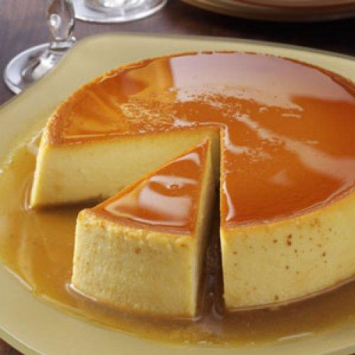 Flan de queso tradicional
