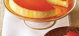 Flan de queso y caramelo